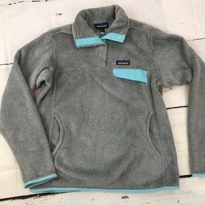 Patagonia Gray Retool T-snap Pullover